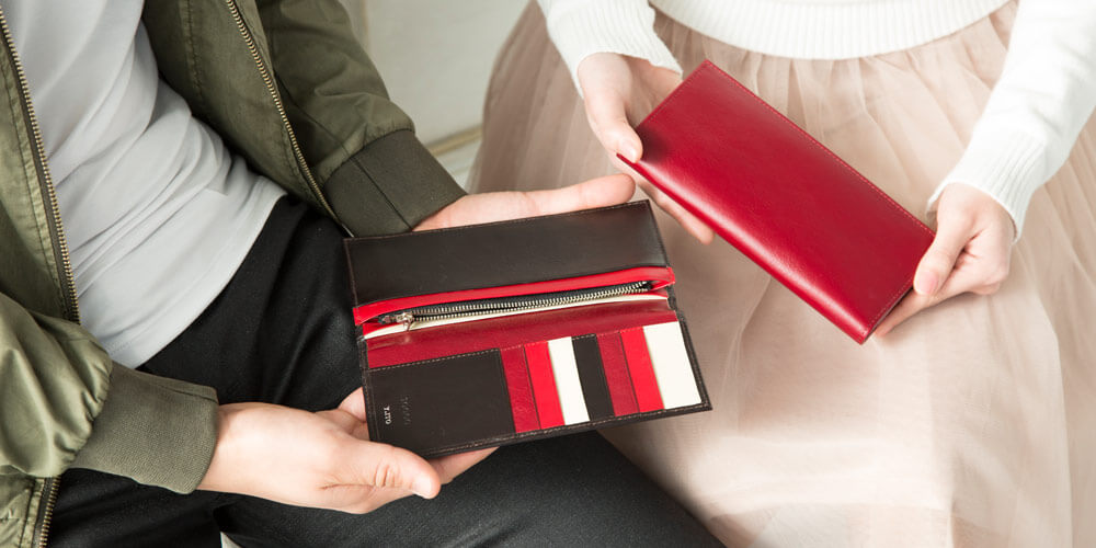 JOGGO公式サイトのオーダーメイド財布のカラーサンプルその③